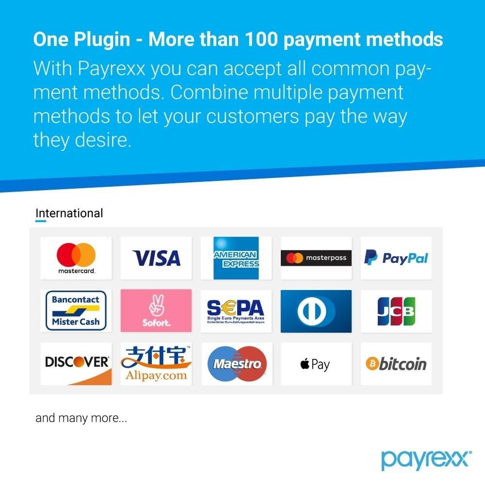 module - Pago con Tarjeta o Carteras digitales - Payrexx Payment Gateway - 1