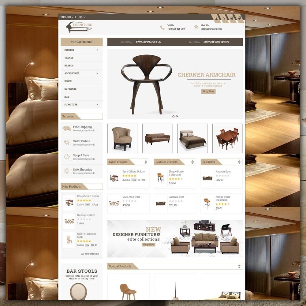 theme - Home & Garden - Furniture Shop - 2