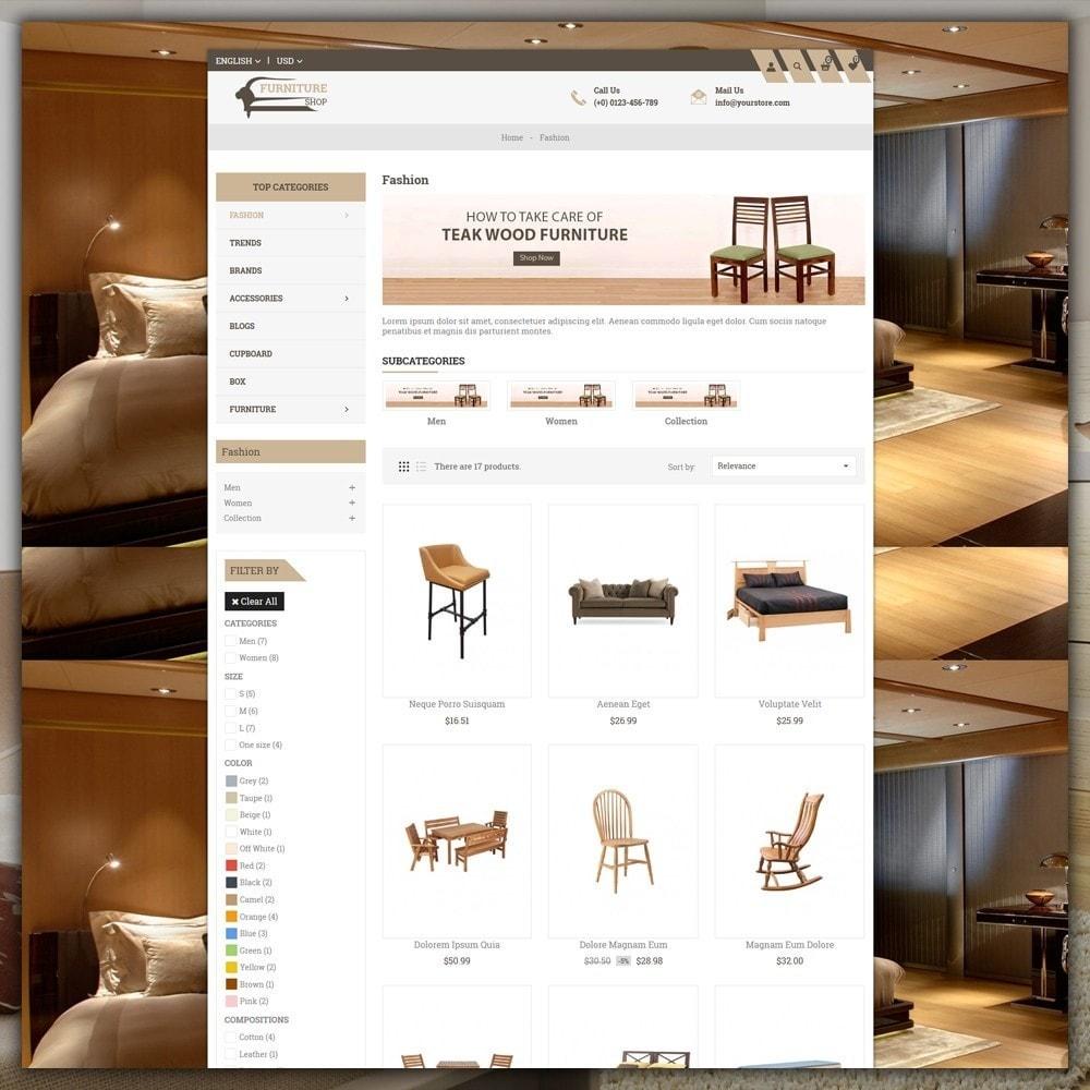 theme - Home & Garden - Furniture Shop - 3