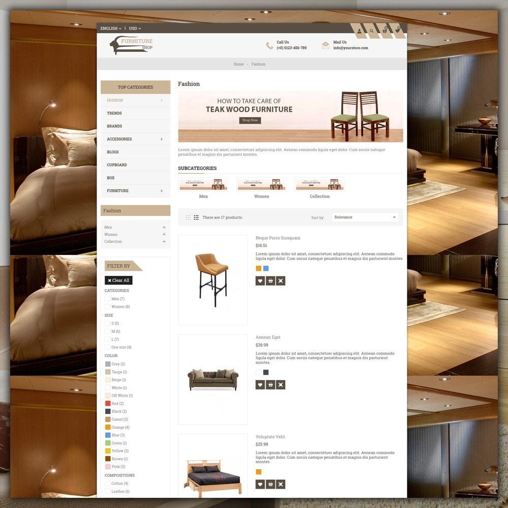 theme - Home & Garden - Furniture Shop - 5