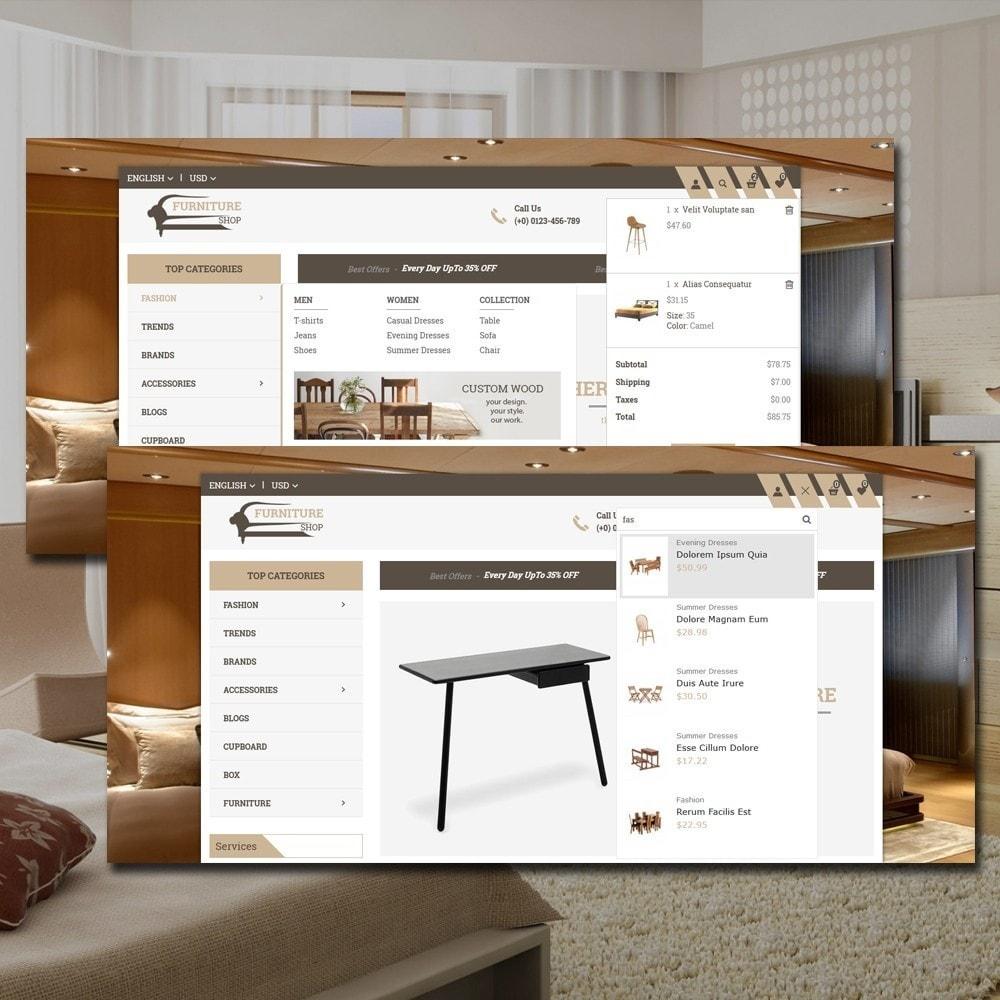 theme - Home & Garden - Furniture Shop - 6