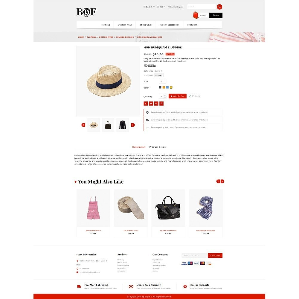 theme - Мода и обувь - BOF Fashion Store - 5