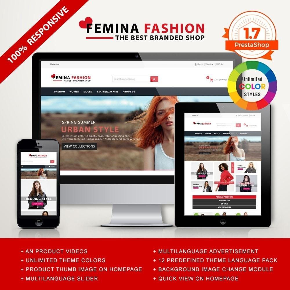 theme - Moda y Calzado - Femina Fashion Premium GB105 - 1