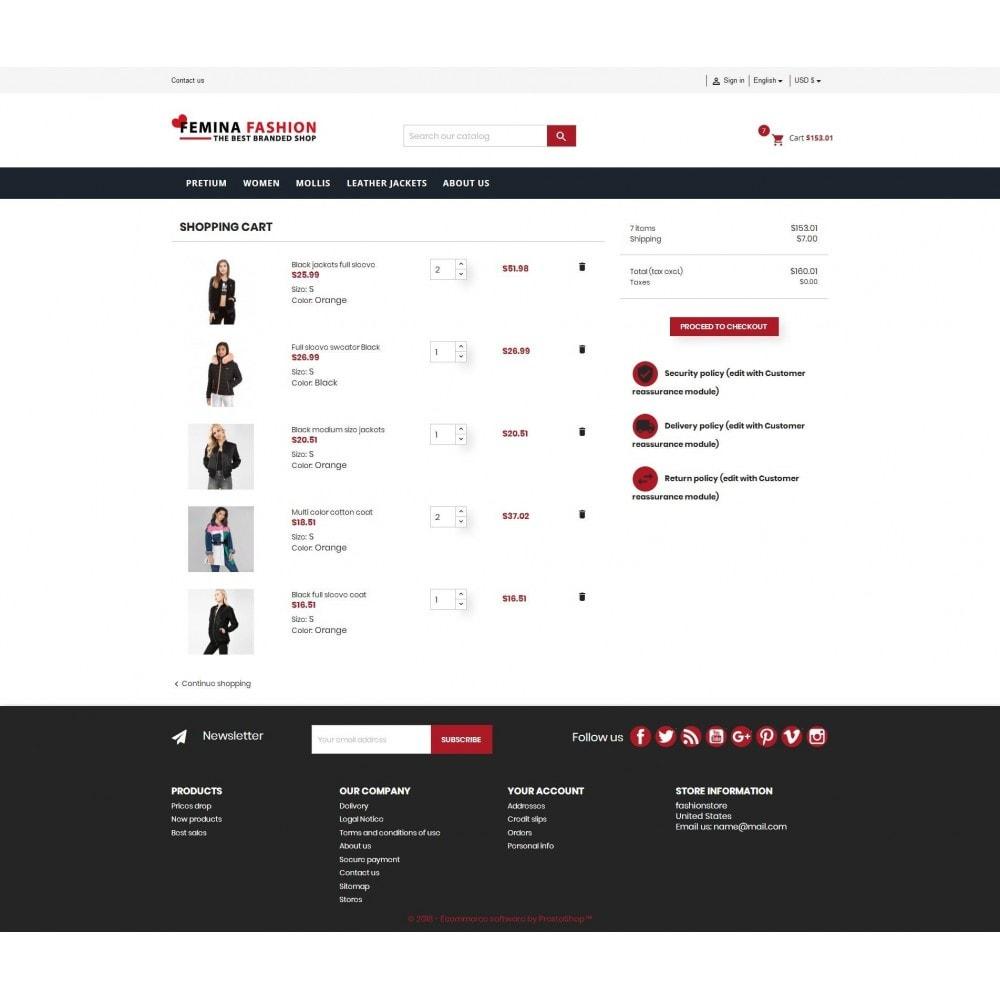 theme - Moda y Calzado - Femina Fashion Premium GB105 - 5