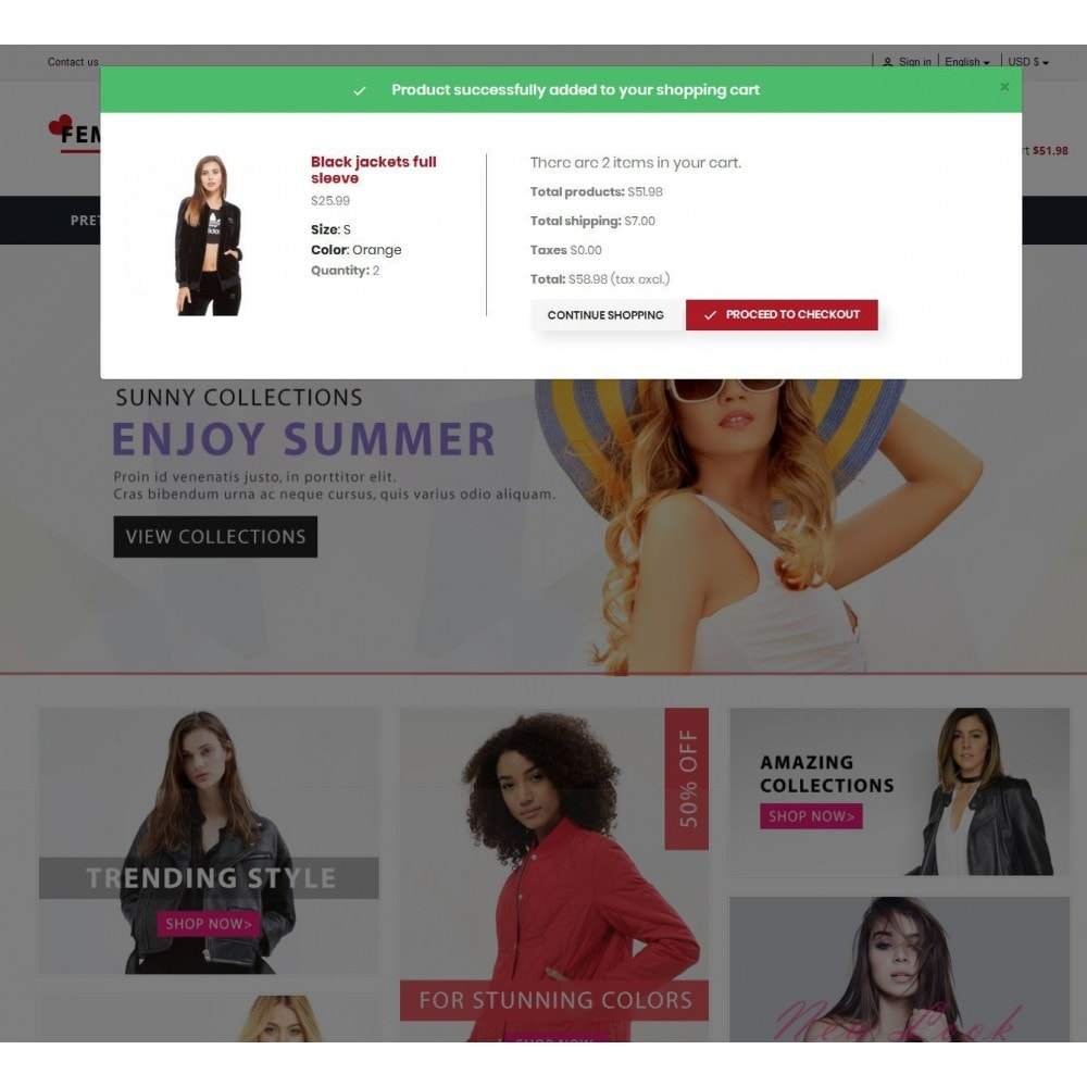 theme - Moda y Calzado - Femina Fashion Premium GB105 - 6