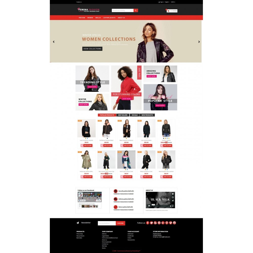 theme - Moda y Calzado - Femina Fashion Premium GB105 - 12