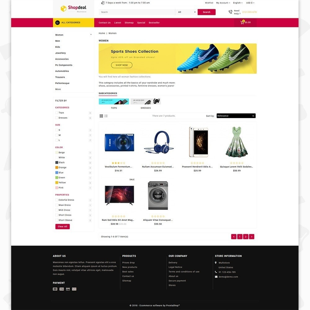 theme - Elektronika & High Tech - Shopdeal - The Multistore Template - 3