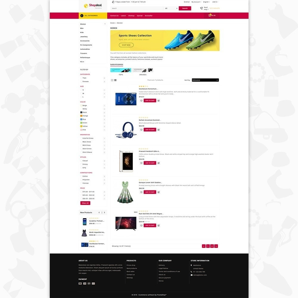 theme - Elektronika & High Tech - Shopdeal - The Multistore Template - 4
