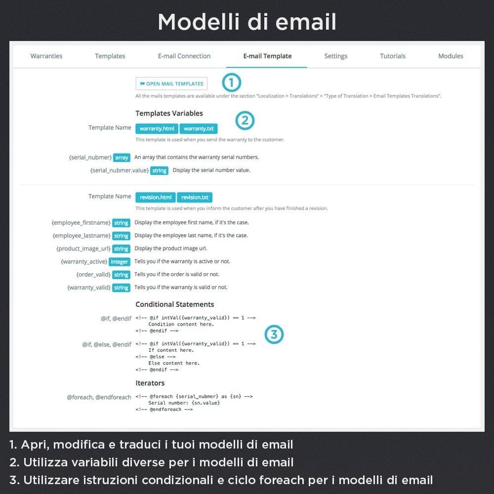 module - Gestione Ordini - Garanzia del Prodotto Pro - 22