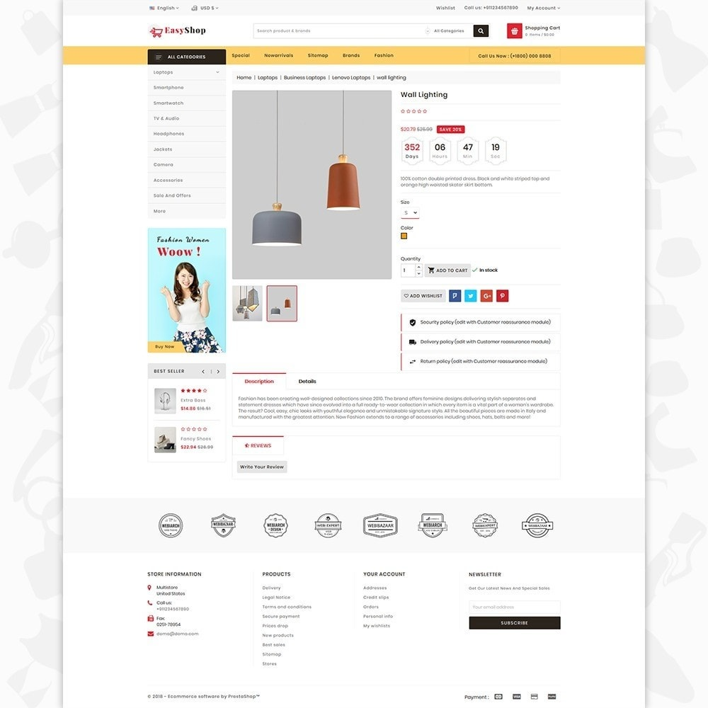 theme - Electronique & High Tech - Easy shop - The Mega Ecommerce Store - 5