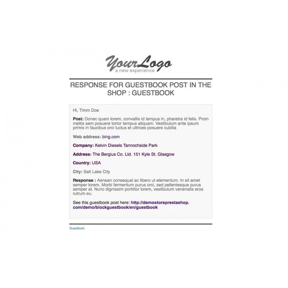 module - Отзывы клиентов - Guestbook - 5
