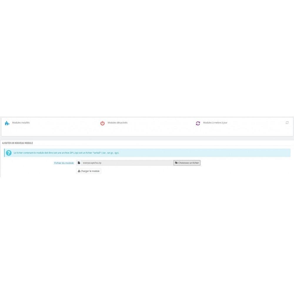 module - Formulaires de Contact & Sondages - Google Captcha sur formulaire de contact - 2