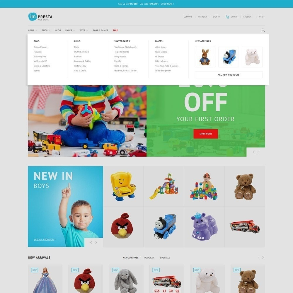 theme - Enfants & Jouets - Impresta - Kids Store - 5