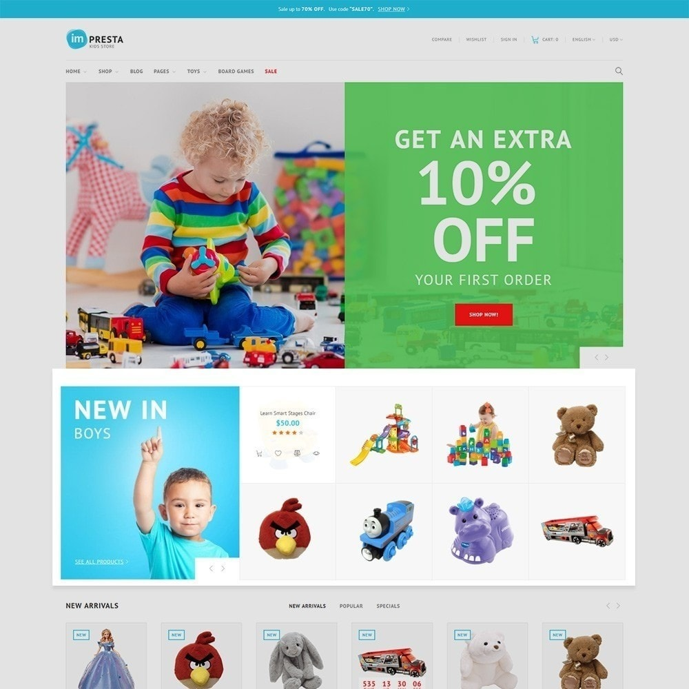 theme - Niños y Juguetes - Impresta - Kids Store - 4