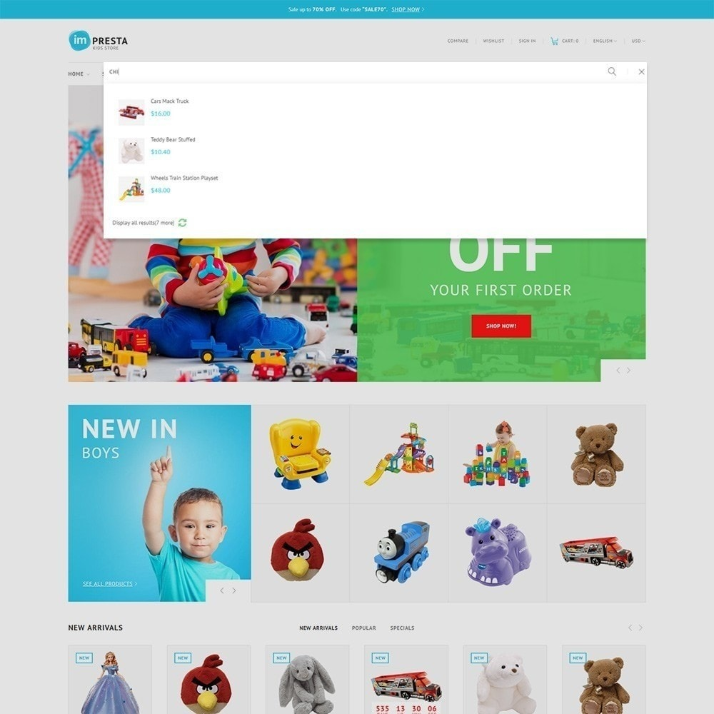 theme - Niños y Juguetes - Impresta - Kids Store - 7
