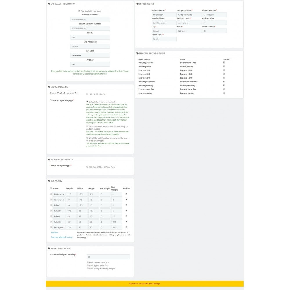 module - Transporteurs - DHL Paket Shipping Plugin with Print Label - 3