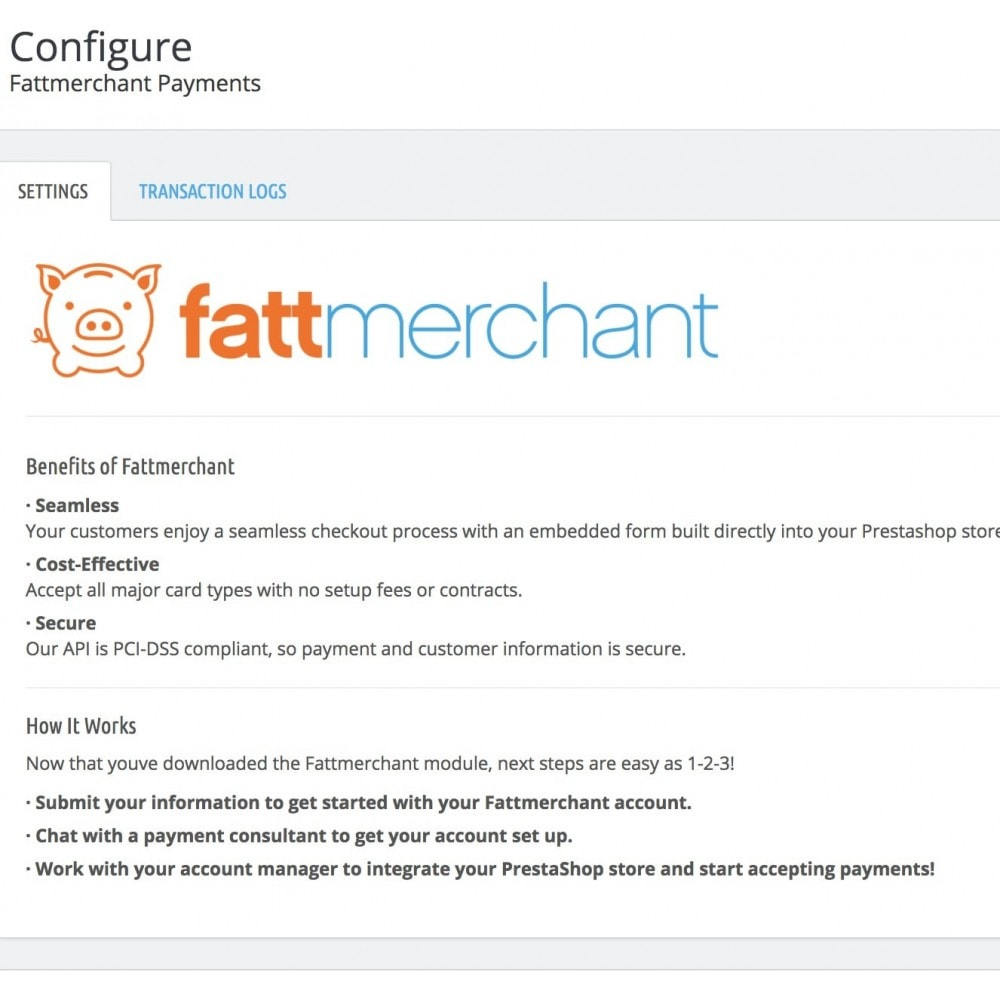 module - Payment by Card or Wallet - Fattmerchant Payment Processing - 7