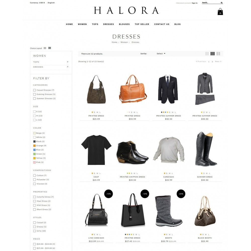 theme - Fashion & Shoes - Halora Fashion Store - 5