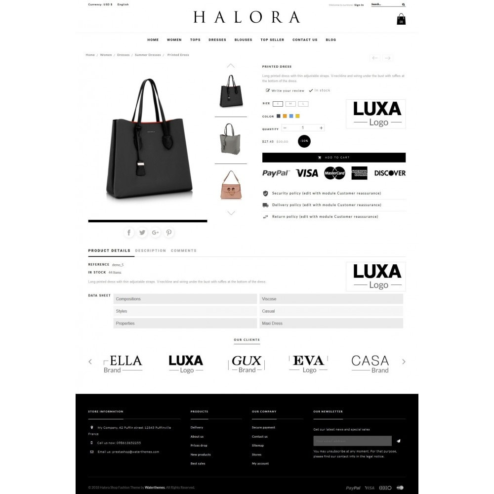 theme - Fashion & Shoes - Halora Fashion Store - 6