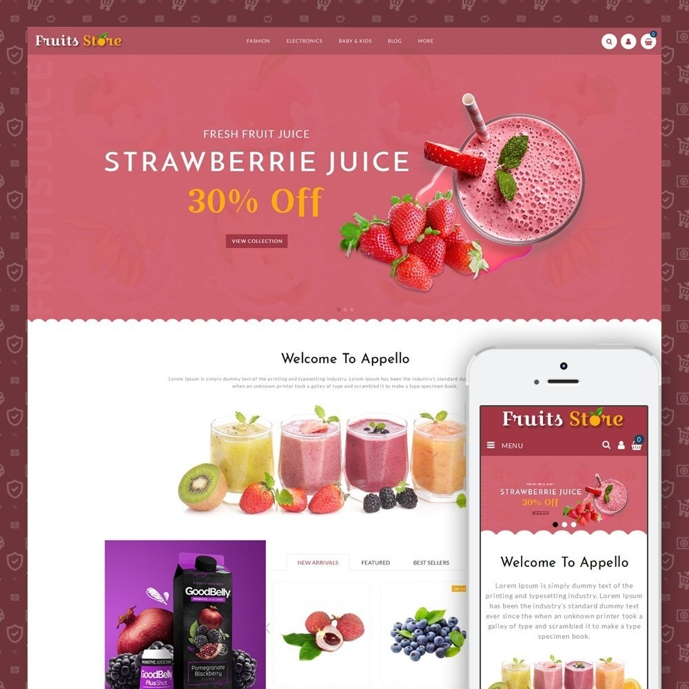 theme - Eten & Restaurant - Fruits Store - 1