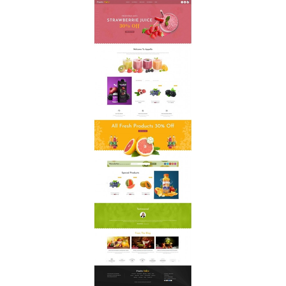 theme - Eten & Restaurant - Fruits Store - 2