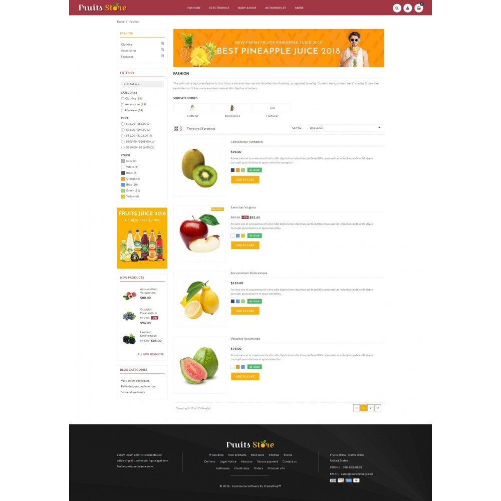 theme - Eten & Restaurant - Fruits Store - 4