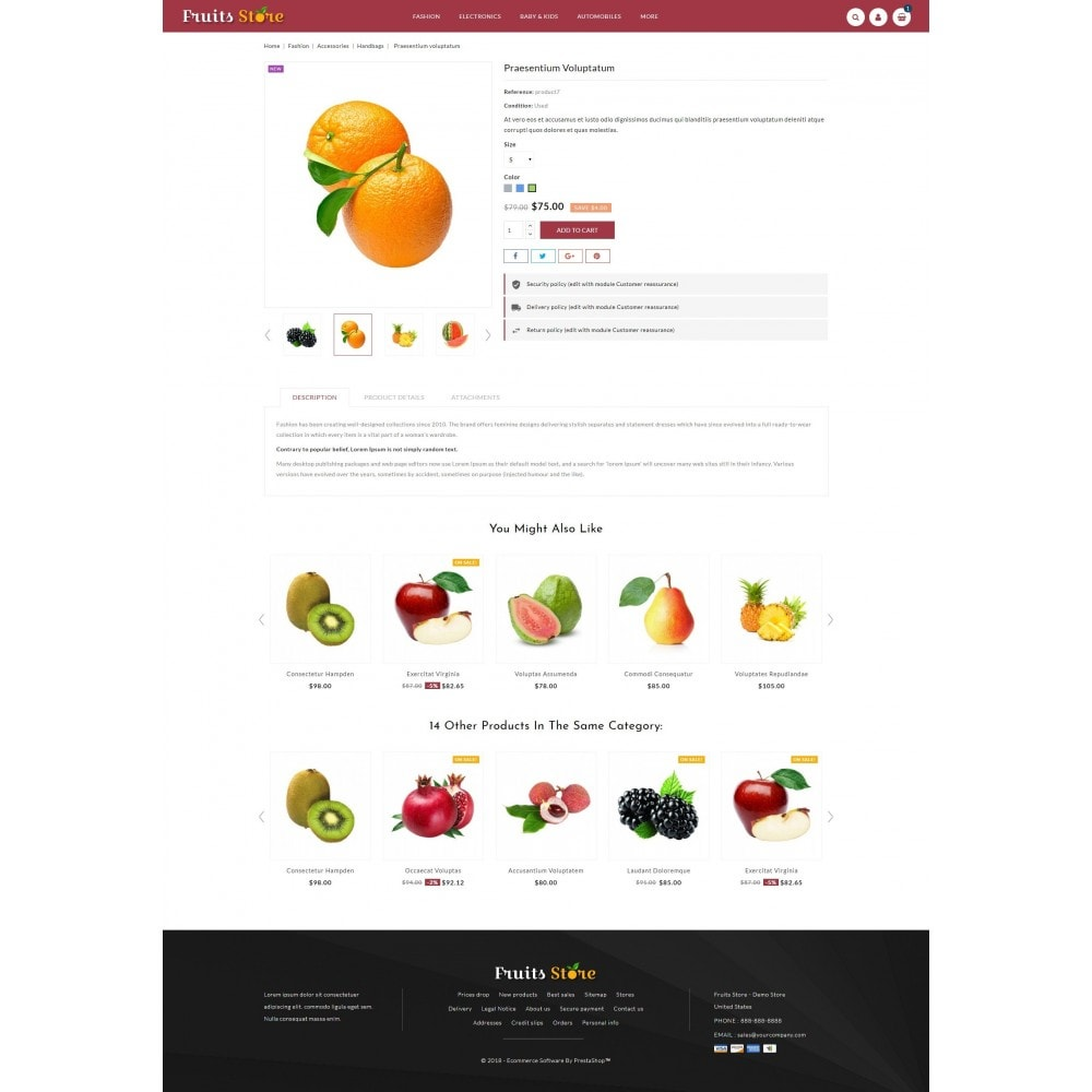 theme - Eten & Restaurant - Fruits Store - 5
