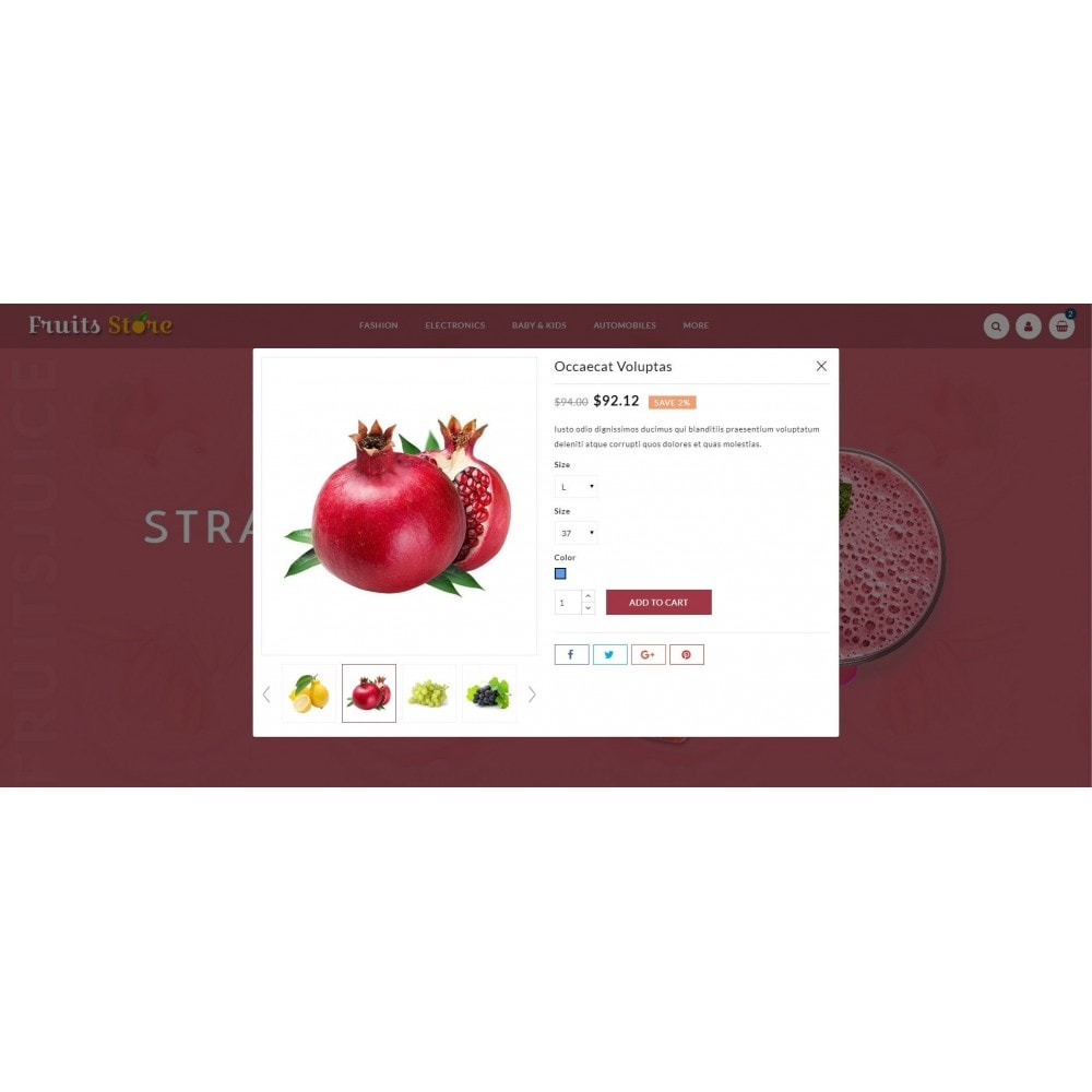 theme - Alimentation & Restauration - Fruits Store - 7