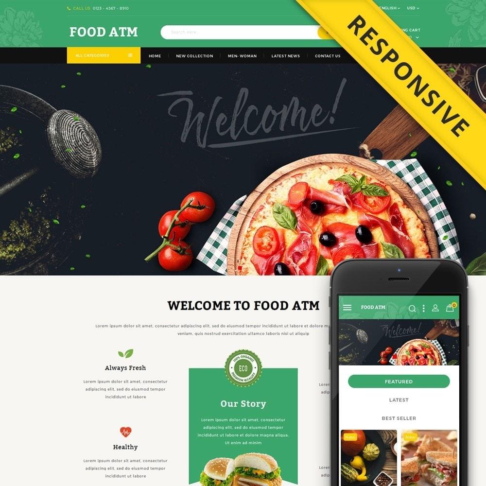 theme - Food & Restaurant - Food ATM - Restaurant Store - 1