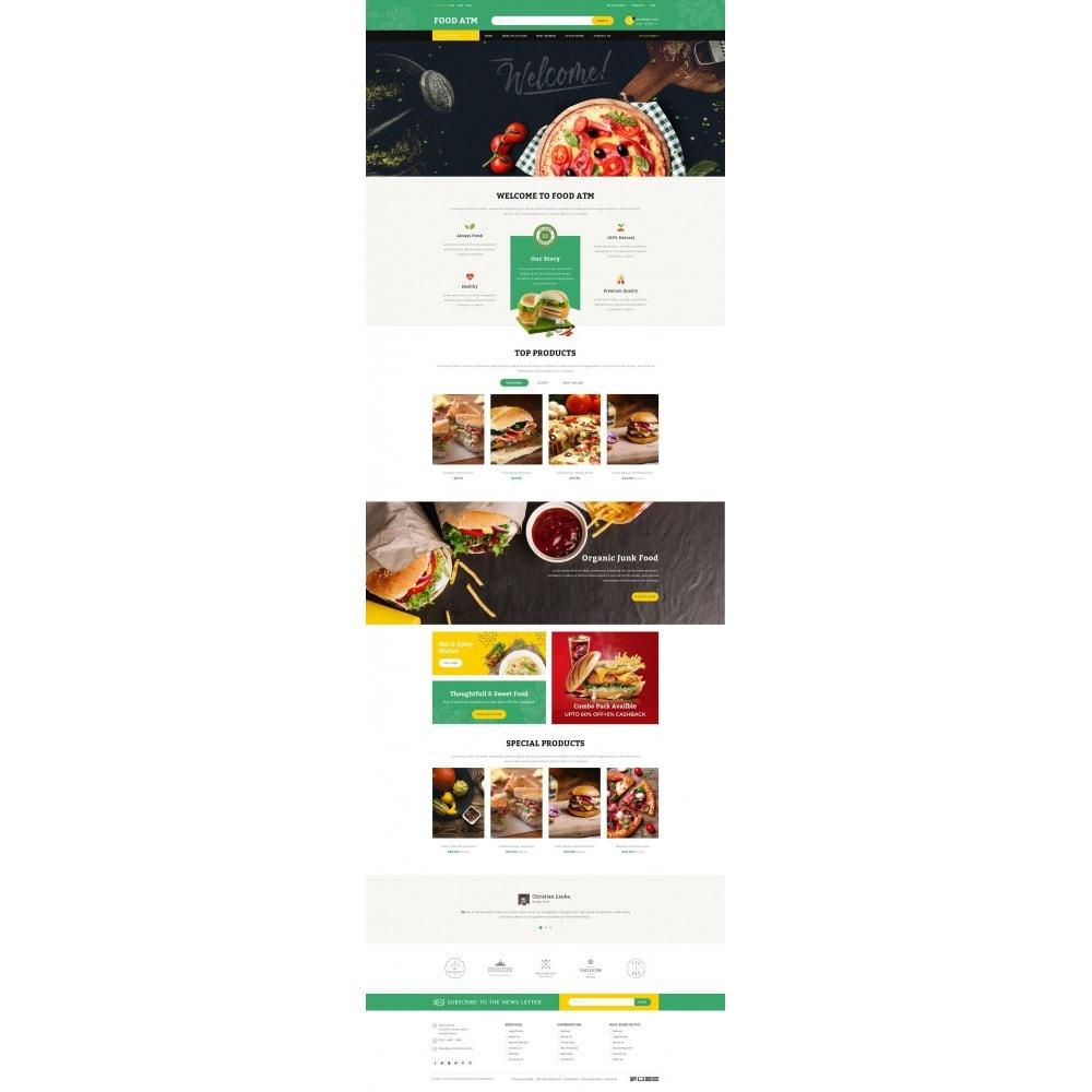 theme - Food & Restaurant - Food ATM - Restaurant Store - 2