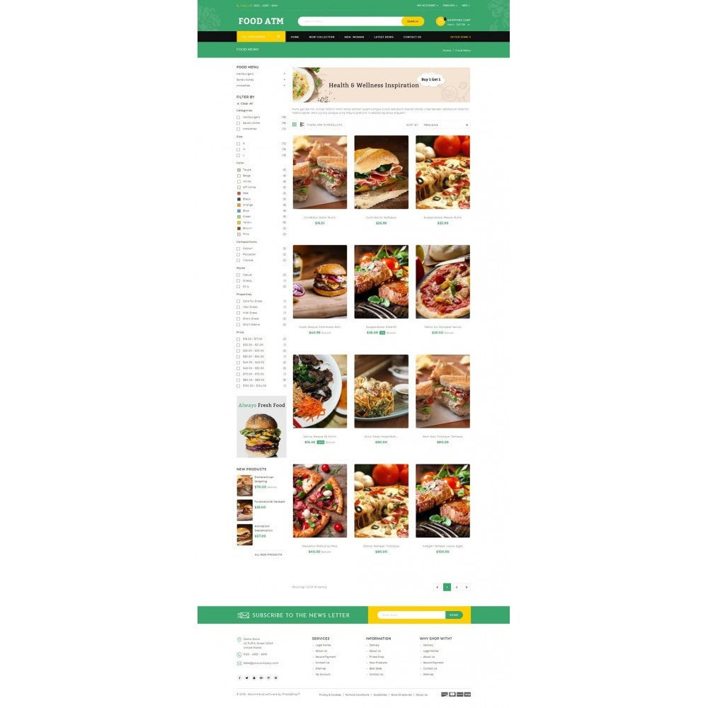 theme - Продовольствие и рестораны - Food ATM - Restaurant Store - 3