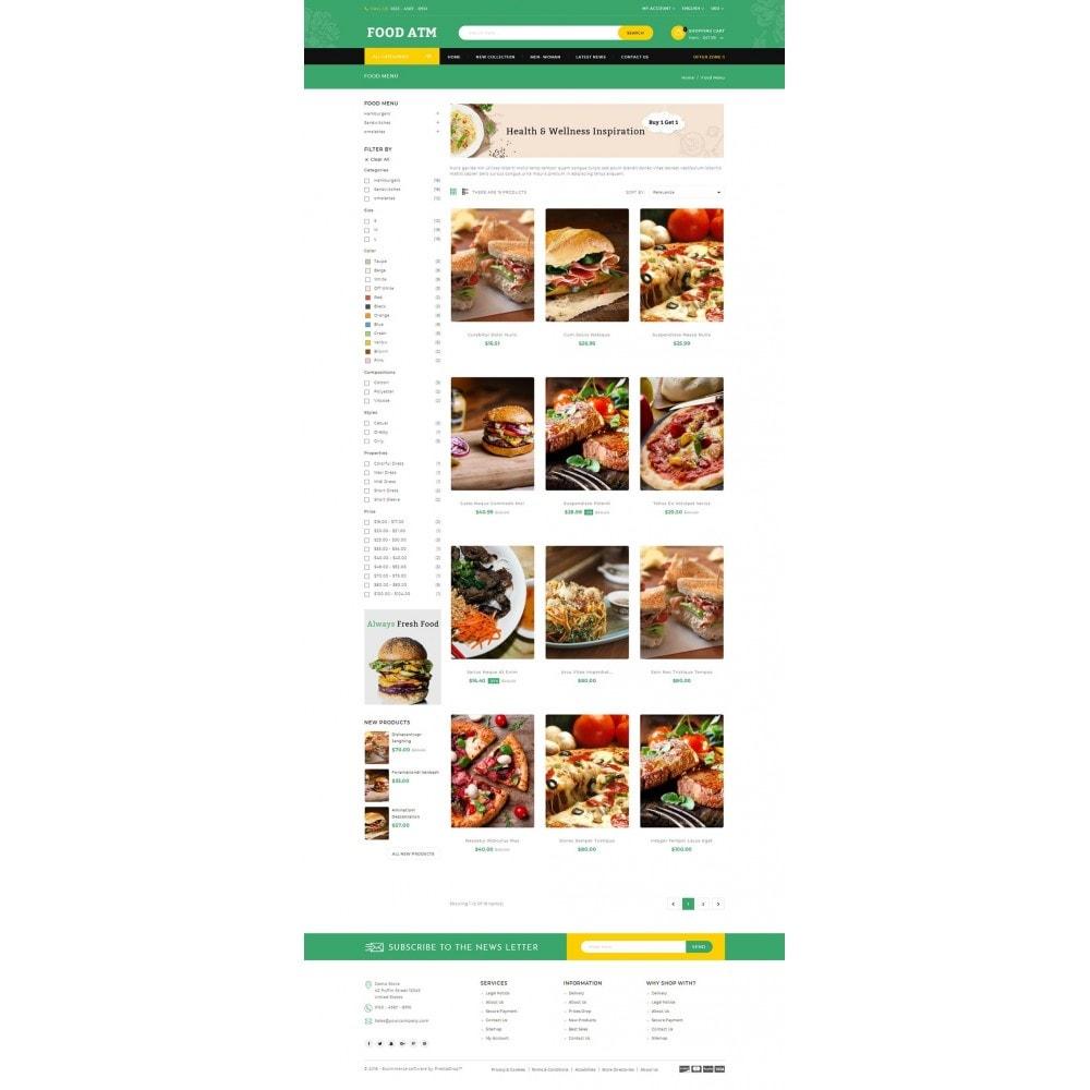 theme - Food & Restaurant - Food ATM - Restaurant Store - 3