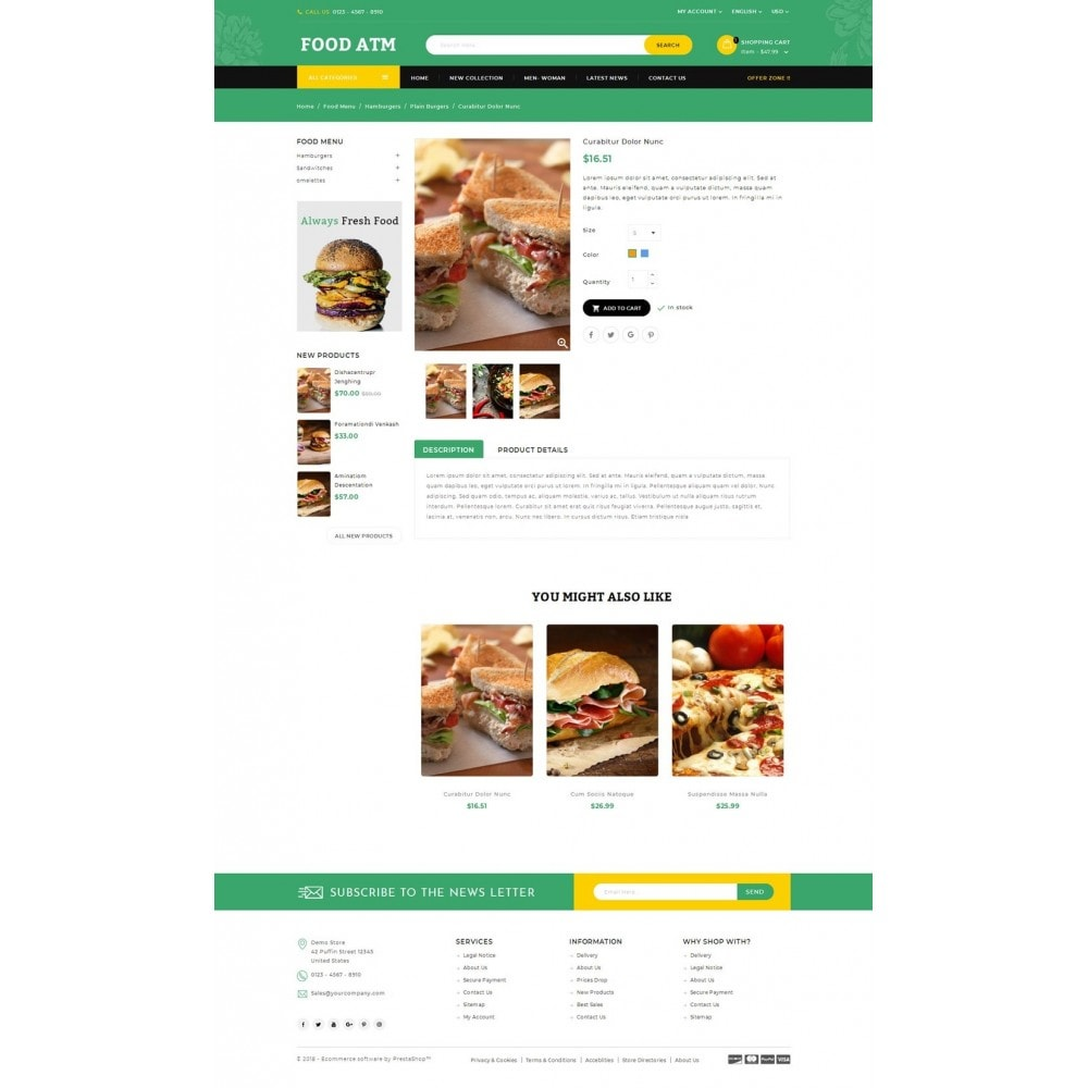 theme - Продовольствие и рестораны - Food ATM - Restaurant Store - 4