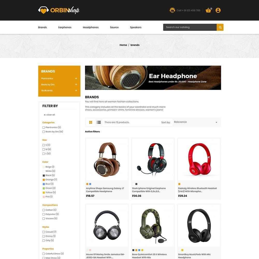 theme - Eletrônicos & High Tech - Orbinshop Electronics - 5