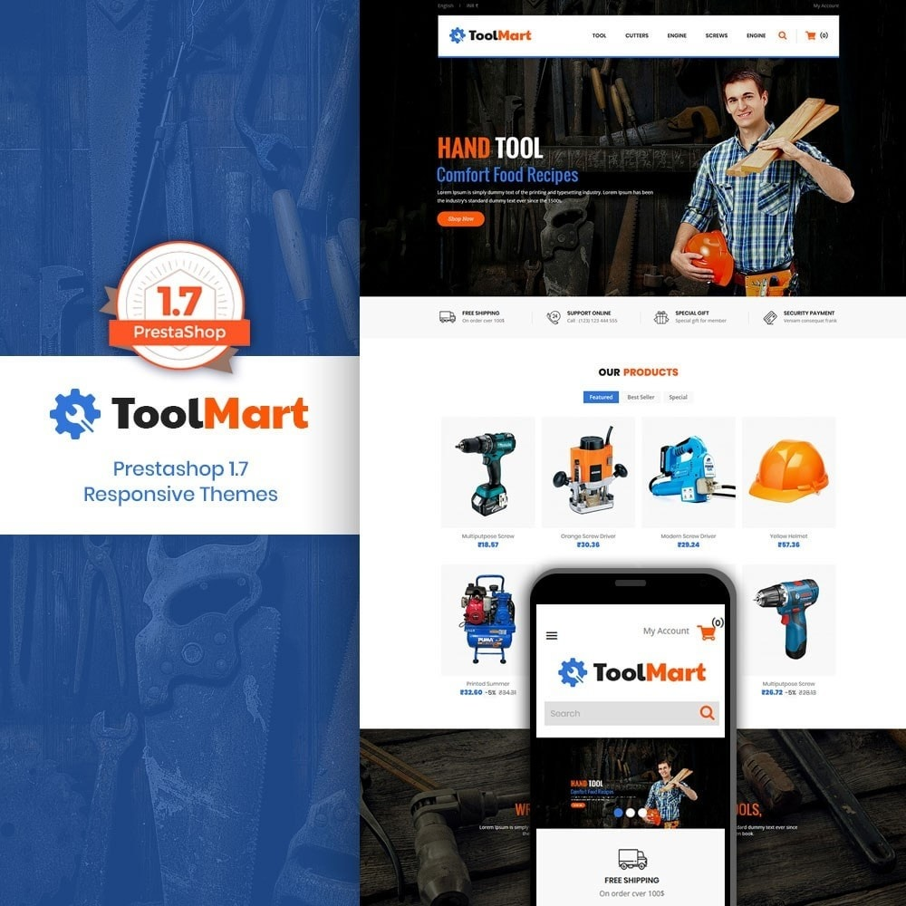 theme - Automotive & Cars - Tool Mart - 1