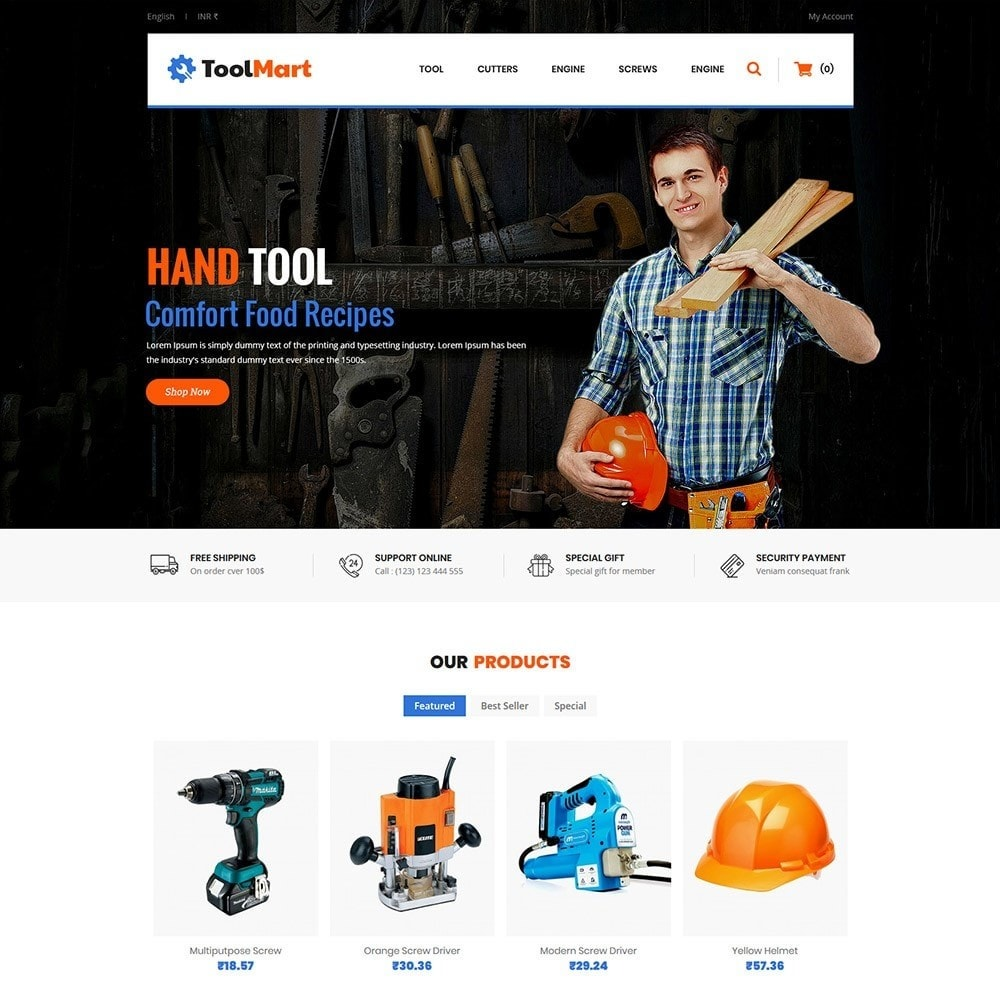 theme - Automotive & Cars - Tool Mart - 3