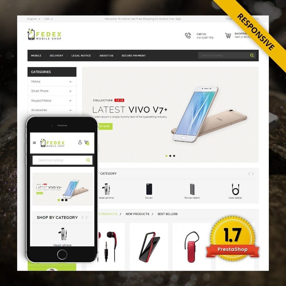 theme - Eletrônicos & High Tech - Fedex - Mobile Shop - 1