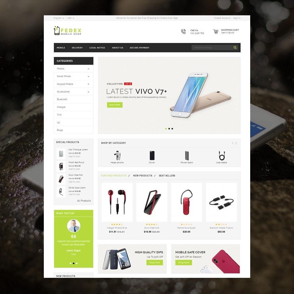 theme - Eletrônicos & High Tech - Fedex - Mobile Shop - 2