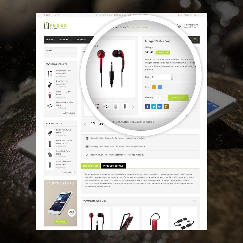 theme - Elektronika & High Tech - Fedex - Mobile Shop - 4