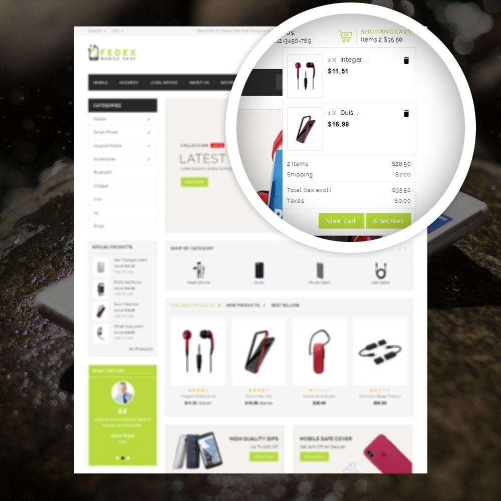 theme - Eletrônicos & High Tech - Fedex - Mobile Shop - 6