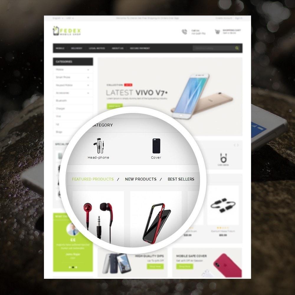 theme - Eletrônicos & High Tech - Fedex - Mobile Shop - 9