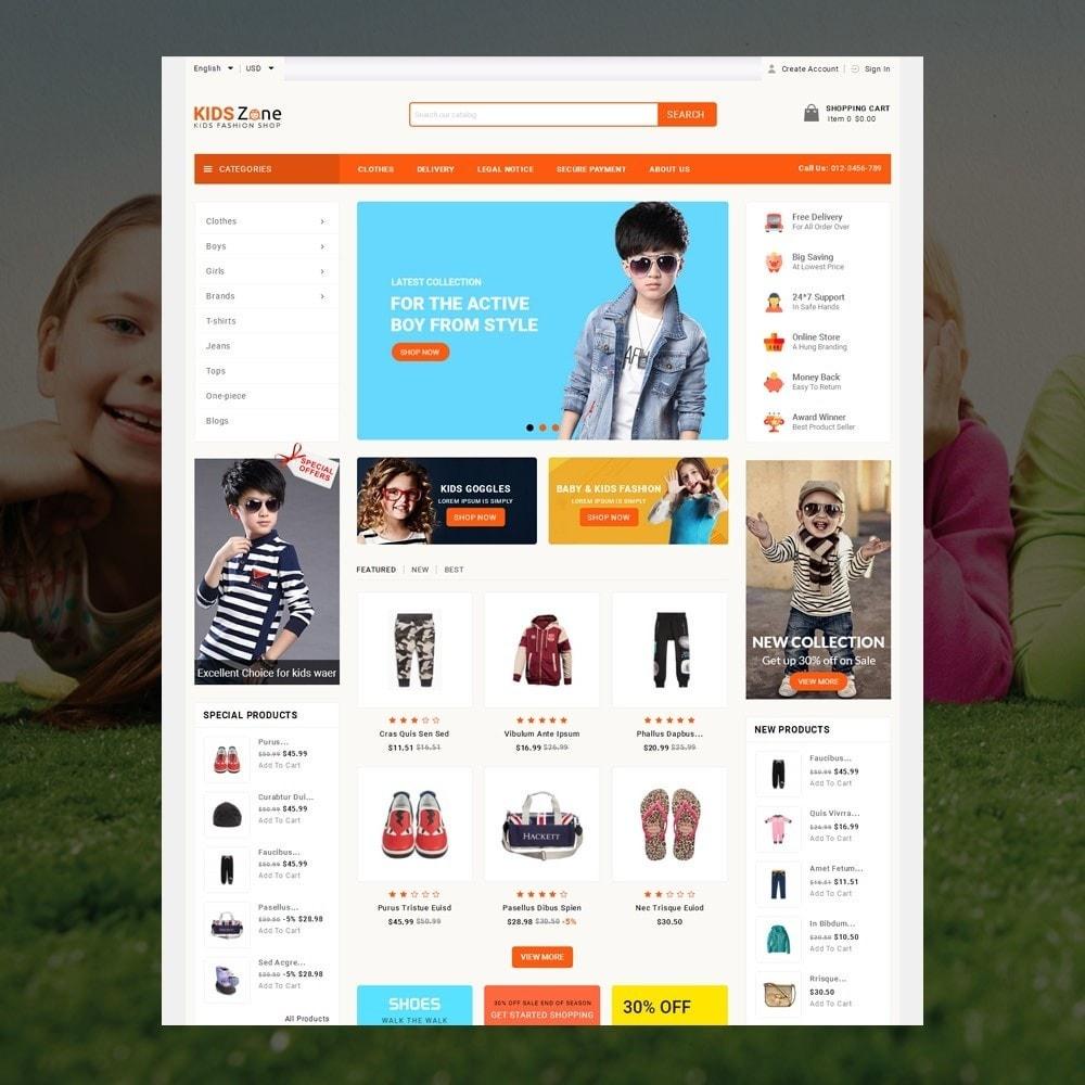 theme - Дети и Игрушки - KidsZone  - Kids Fashion Store - 2