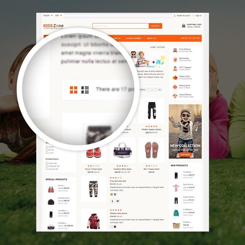 theme - Дети и Игрушки - KidsZone  - Kids Fashion Store - 3