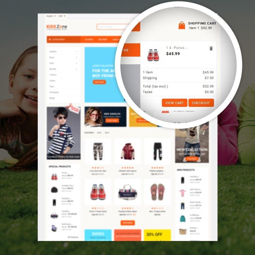 theme - Дети и Игрушки - KidsZone  - Kids Fashion Store - 6