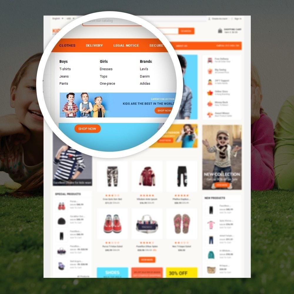 theme - Дети и Игрушки - KidsZone  - Kids Fashion Store - 7