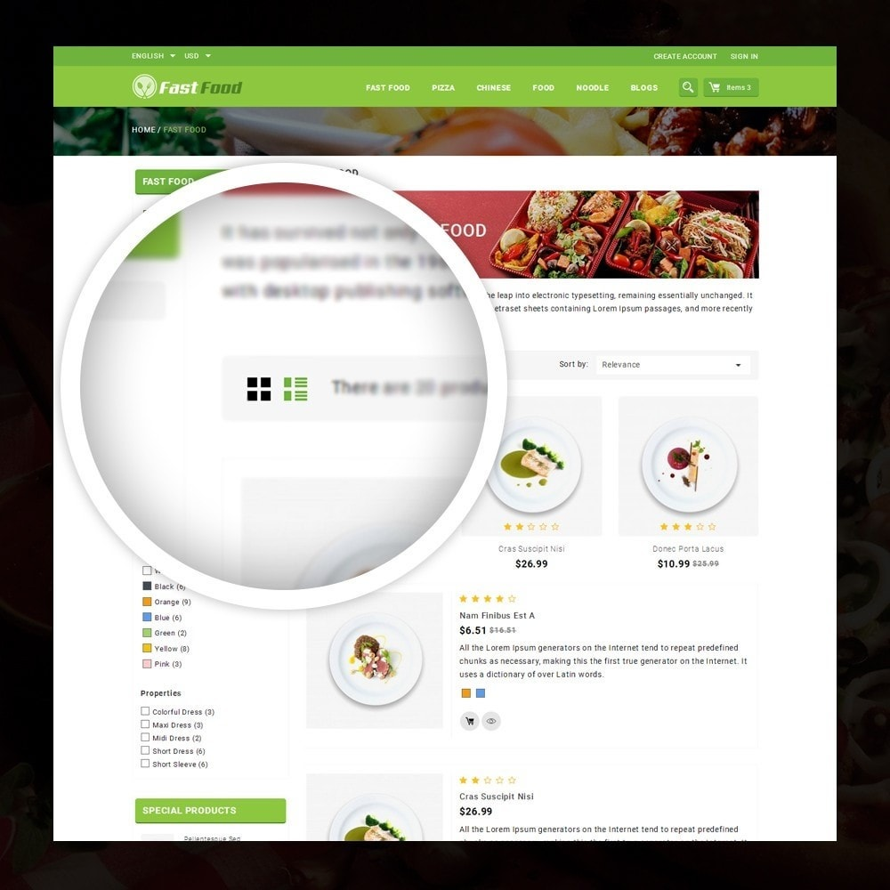 theme - Alimentation & Restauration - FastFood - Food Store - 3