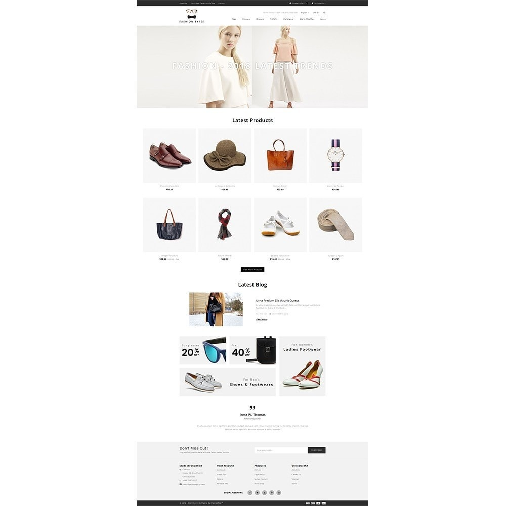 theme - Mode & Schoenen - Fashion Bytes Store - 2