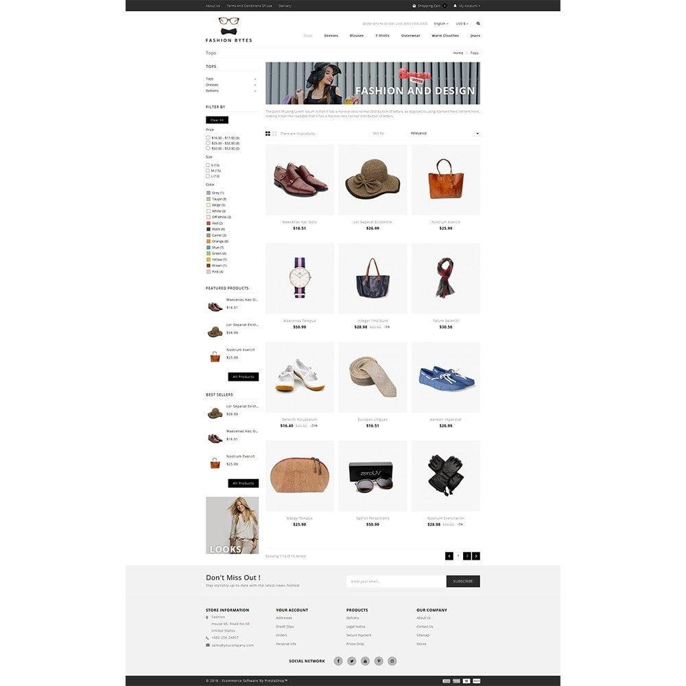 theme - Mode & Schoenen - Fashion Bytes Store - 3