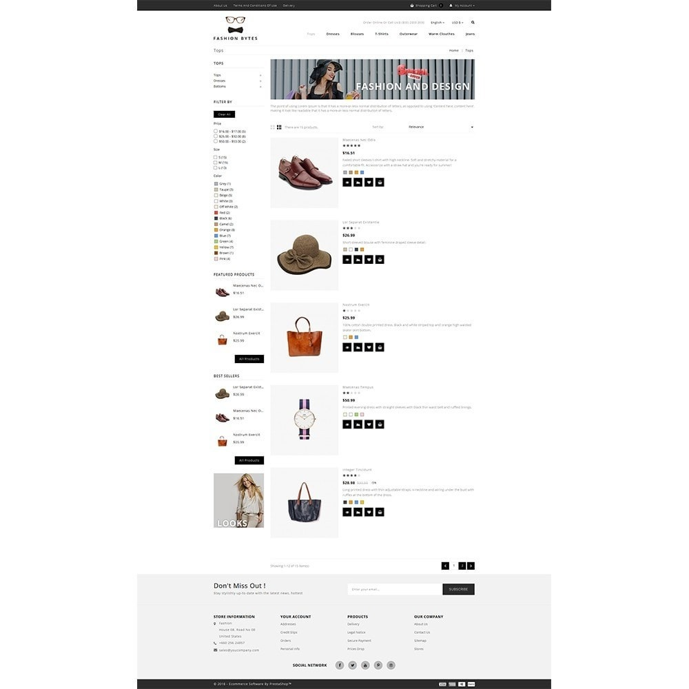 theme - Mode & Schoenen - Fashion Bytes Store - 4