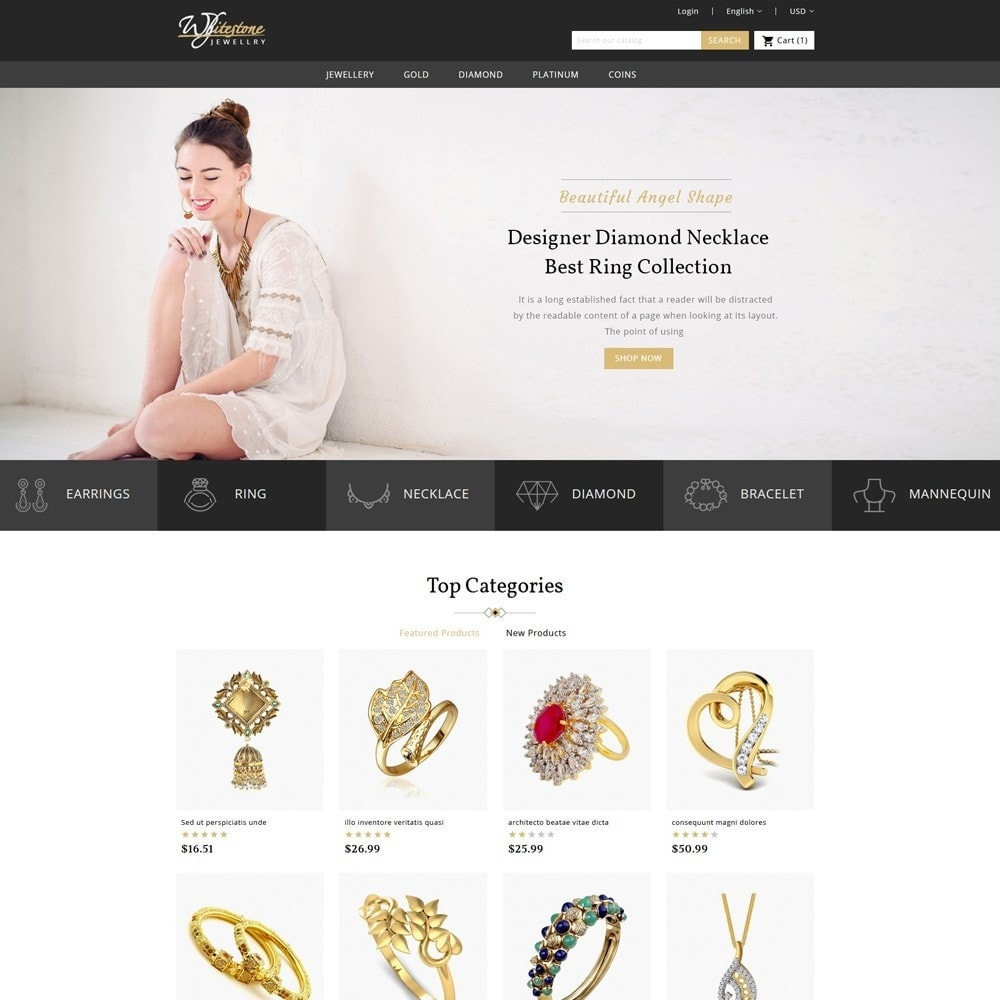 theme - Jewelry & Accessories - Whitestone Jewellery Store - 2